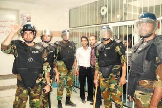 یورش گارد امنیتی زندان اوین به بند هفت
