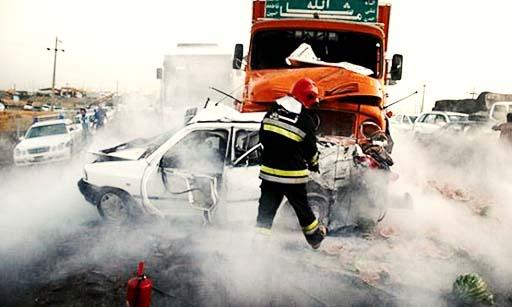 دوازده هزار کشته در حوادث رانندگی نه ماه نخست امسال