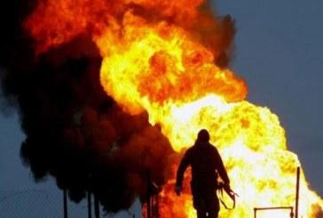 مرگ کارگر ۲۰ ساله در آتش سوزی