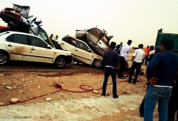 ۳۸۰ کشته و ۴۶۰۰ زخمی در تصادفات شهریور