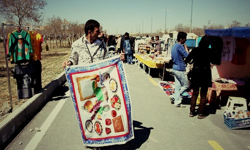 در آستانه سال جدید؛ ممنوعیت دستفروشی در ۴۸ نقطه مهم شهر تهران