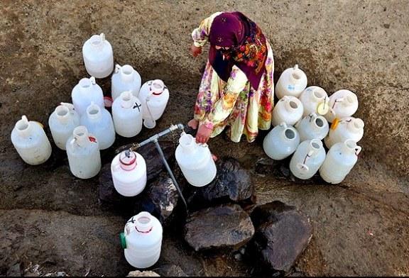 گزارش تصویری از روستای چیناب بدون آب