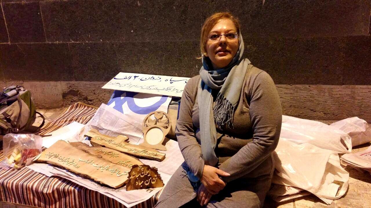 شکوفه آذرماسوله از زندان آزاد شد