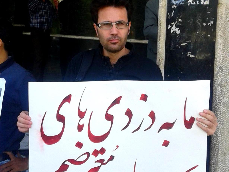 محسن شجاع روز ۲۶ اسفند ماه به زندان اوین میرود