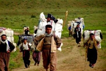مرگ یک کولبر ۳۵ ساله در کردستان