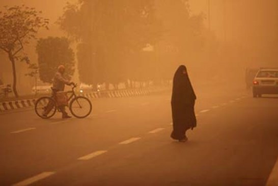مراجعه ۱۷۲ نفر به مراکز درمانی سیستان به دلیل مشکلات ناشی از ریزگردها