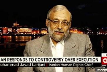 جواد لاریجانی در خصوص اعدام تمام مردان یک روستا در بلوچستان سخن گفت