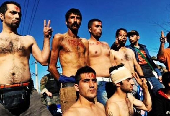 ایرانیان لبدوخته در شمال فرانسه به اعتصاب غذای خود پایان دادند