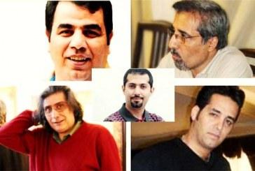 هفت زندانی سیاسی، بند هشت به مرخصی آمدند