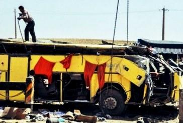 واژگونی اتوبوس دانشآموزان ایرانی و مرگ دو نفر