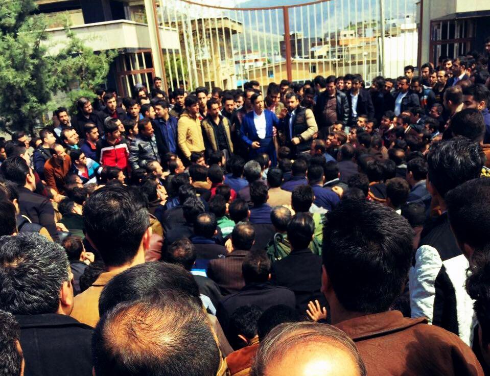 اعتصاب اصناف و بازاریان بانه۳