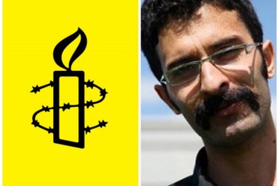 هشدار عفو بین الملل درباره اعتصاب غذای سعید شیرزاد در زندان رجایی شهر