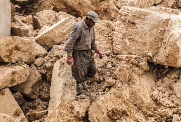 کشته و مصدوم شدن دو کارگر بر اثر سقوط بیل لودر