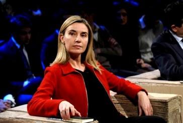 ۶۰ نماینده پارلمان اروپا خطاب به موگرینی: درباره حقوق بشر صحبت کن!