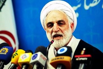 محسنی اژه ای: با سخنان احمد شهید از اصول خود کوتاه نخواهیم آمد