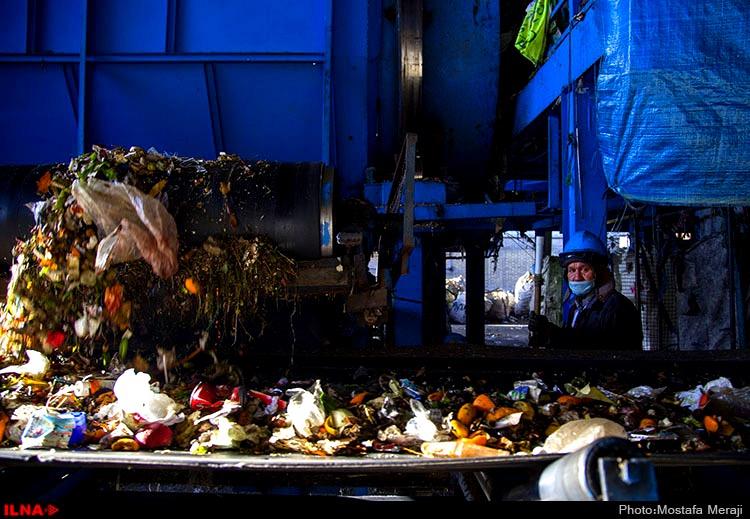 کارگران سایت پسماند زباله۱۰