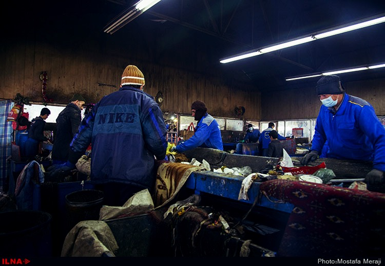 کارگران سایت پسماند زباله۱۲