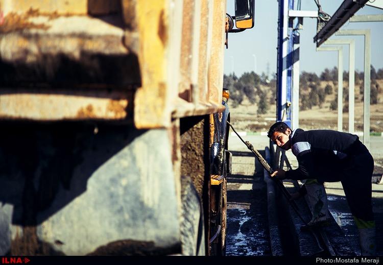 کارگران سایت پسماند زباله۱۳