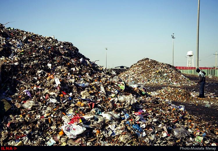 کارگران سایت پسماند زباله۳