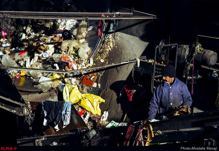 کارگران سایت پسماند زباله۶