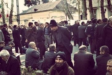 اعتراضات کارگران نیشکر هفت تپه با تجمع۷۰۰ کارگر ادامه یافت
