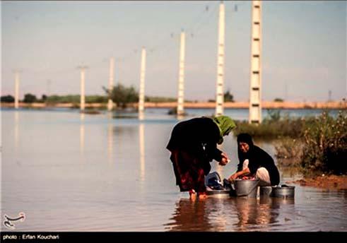 روستای سیلزده و مردم آن در خوزستان؛ هفت روز است دیگر هیچ نداریم