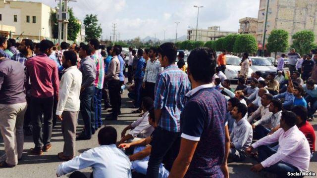اعتراض بازاریان میناب به ضبط کالاهای خارجیشان از سوی نیروی انتظامی