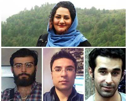 دادگاه تجدیدنظر چهار فعال مدنی به تعویق افتاد