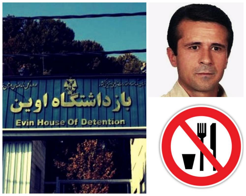 جان جعفر عظیم زاده در خطر است؛ بیست و دو روز اعتصاب غذا در زندان