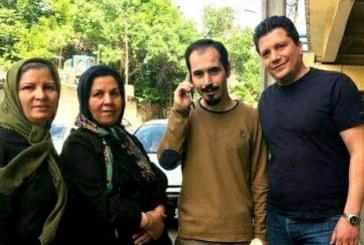 آزادی موقت حسین رونقی ملکی از زندان اوین