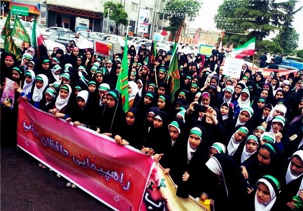 راهپیمایی تبلیغ حجاب ۲