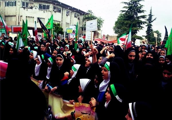 راهپیمایی تبلیغ حجاب