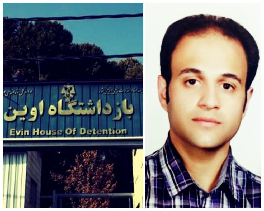 تهدید و ضرب وشتم علیرضا گلی پور در زندان اوین/ وخامت حال در هشتمین روز از اعتصاب غذا