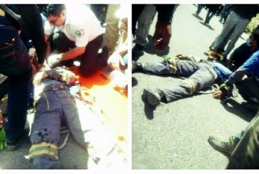 مجروح شدن یک کارگر اداره برق بر اثر سقوط جرثقیل