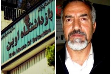 یعقوب ملکی، خلبان دوران جنگ، در شرف نابینایی در زندان اوین