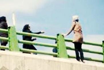 خودکشی دختر ۲۴ ساله از روی پل عابر