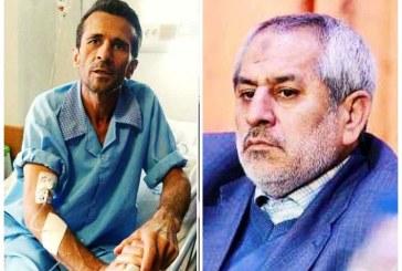 دادستان تهران: برای جعفر عظیم زاده کاری نمی کنم حتی اگر بمیرد