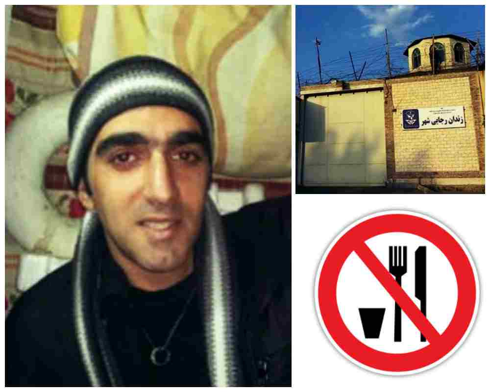 بیهوشی و انتقال شهرام پورمنصوری به بیمارستان در نهمین روز از اعتصاب غذا