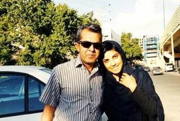بازداشت شیما بابایی و پدرش ابراهیم بابایی در دفتر پلیس امنیت تهران