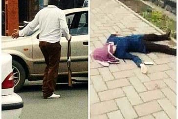 با انگیزه ناموسی؛ قتل دختر جوان توسط پدرش در خیابان