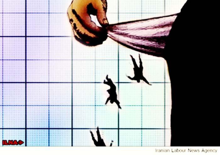 اخراج ۵۲۵ کارگر شرکت پیمانکاری آهاب بدون تسویه حساب