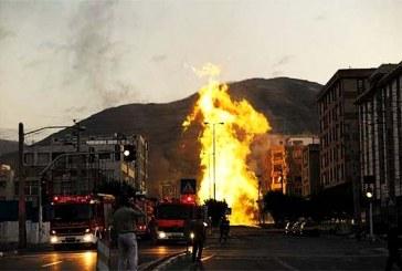 جسد یکی از کارگران مفقود شده در حادثه انفجار لوله گاز تهران پیدا شد