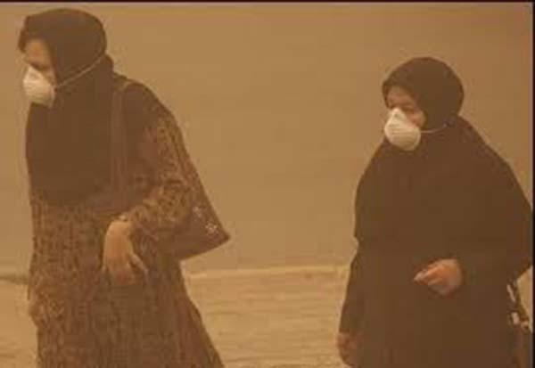 میزان آلودگی هوای لرستان ۲۲ برابر حد مجاز است