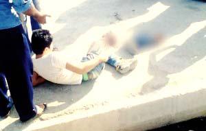 قطع پای یک کودک با ساطور تحت عنوان قصاص در پی اختلاف خانوادگی