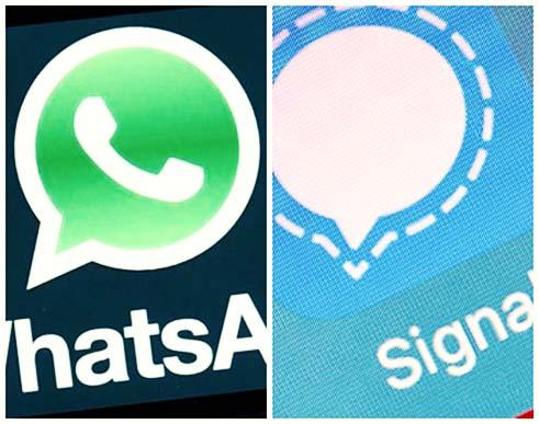 برای داشتن یک چت امن از Whatsapp و Signal استفاده کنید
