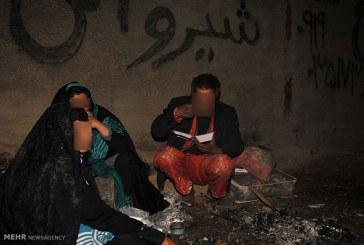 زندگی کارتن خواب ها در منطقه ملک آباد استان البرز / گزارش تصویری