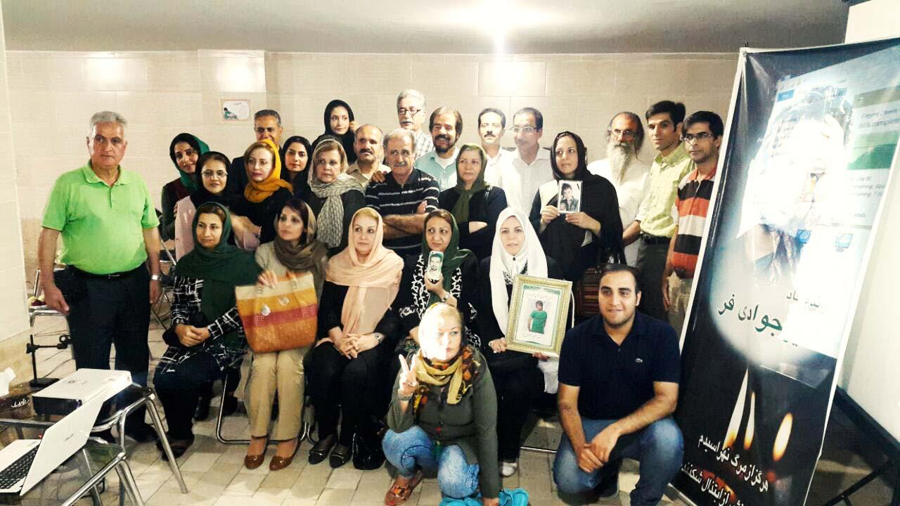برگزاری مراسم هفتمین سالگرد کشته شدن امیر جوادیفر با حضور فعالین سیاسی و مدنی