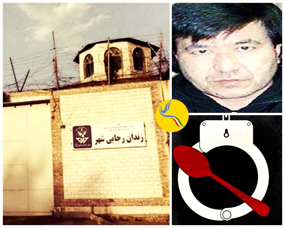 اعتصاب غذای باتیر شاه محمد اف، زندانی امنیتی، در رجایی شهر