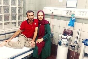 جعفر عظیمزاده باردیگر در بیمارستان بستری شد