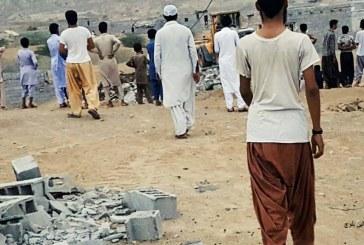 گفت و گو با ساکنان روستای مرادآباد چابهار: دولت خانه های ما را خراب کرد